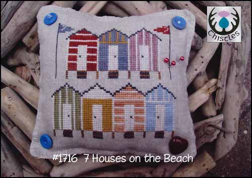 7 Houses On The Beach  ~ Thistles