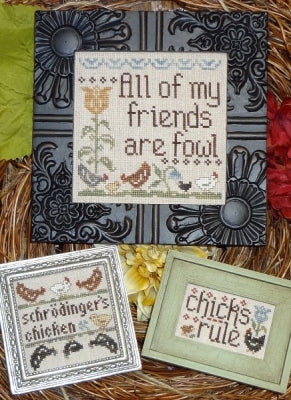 Fowl Friends (3designs) ~ My Big Toe