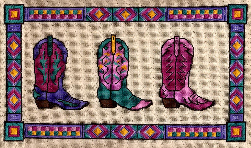 Fancy Boots ~ Laura J. Perin Designs