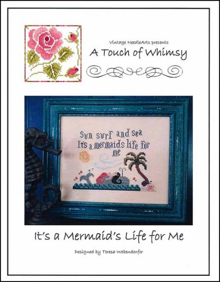 It's A Mermaid Life For Me ~ Vintage NeedleArts