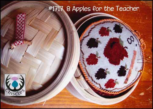 8 Apples For The Teacher ~ Thistles