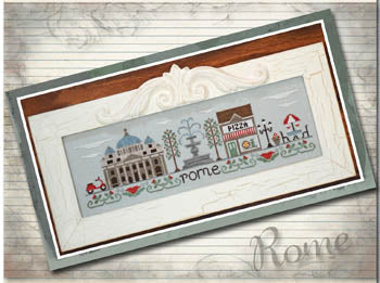 Afternoon In Rome ~ Country Cottage Needleworks (M)