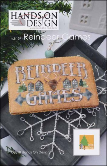 Reindeer Games - White Christmas   ~  Hands On Design