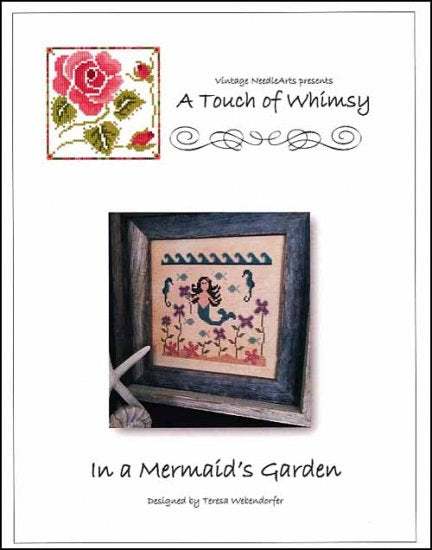 In A Mermaid's Garden ~ Vintage NeedleArts
