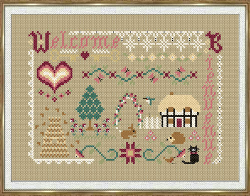 A Welcoming Spot ~ Papillon Creations