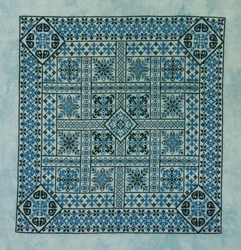 Shades Of Turquoise ~ Northern Expressions Needlework