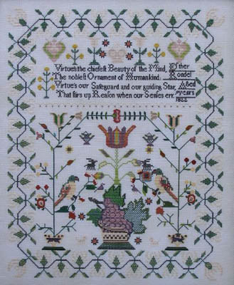 Esther Rondel 1822 ~ Queenstown Sampler Designs