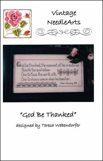 God Be Thanked ~ Vintage NeedleArts