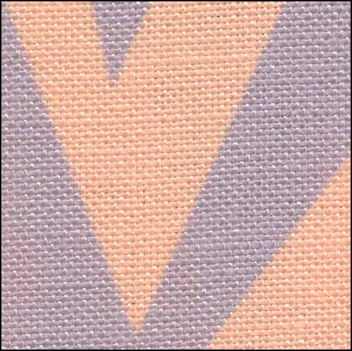 Halloween Zig Zag 28ct Linen ~ Fabric Flair