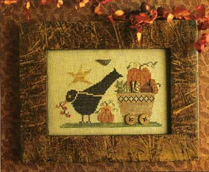 Delivering Harvest ~ Homespun Elegance