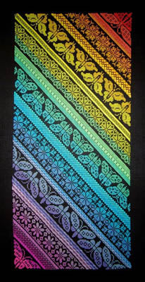 Twisted Rainbow Sampler ~ Northern Expressions Needlework