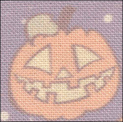 Pumpkins 28ct Linen ~ Fabric Flair