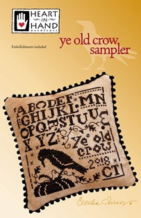 Ye Old Crow Sampler ~ Heart in Hand