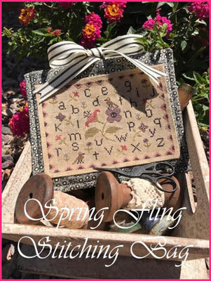 Spring Fling Stitching Bag ~ The Scarlett House