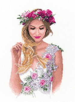 Emily - Elegance by John Clayton ~ Cross stitch Pattern by Heritage Crafts
