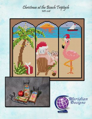 Christmas at the Beach Triptych ~ Meridian Designs