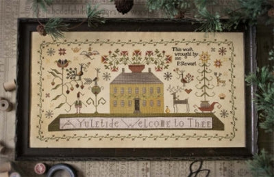 A Yuletide Welcome ~ Plum Street Samplers (M)