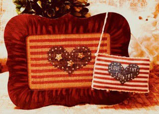 Simply Patriotic ~ Homespun Elegance
