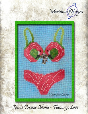 Teenie Weenie Bikinis - Flamingo Love  ~ Meridian Designs