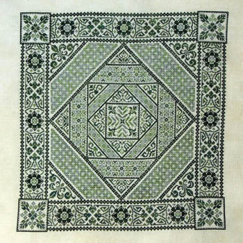 Shades Of Green ~ Northern Expressions Needlework