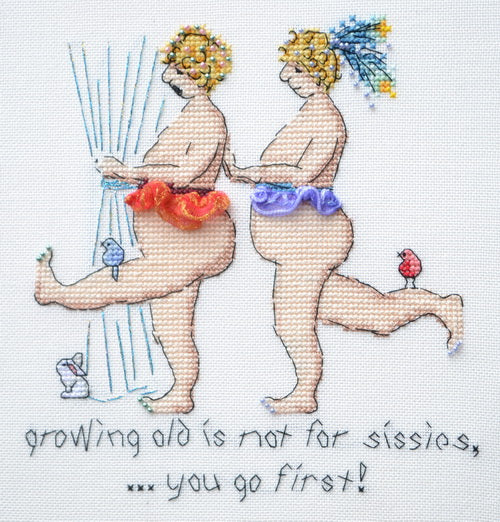 Growing Old Is Not For Sissies ~ MarNic Designs