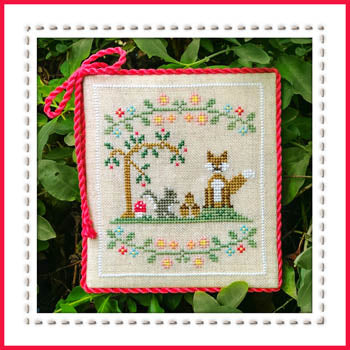 Welcome To The Forest 6 - Forest Fox And Friends  ~ Country Cottage Needleworks