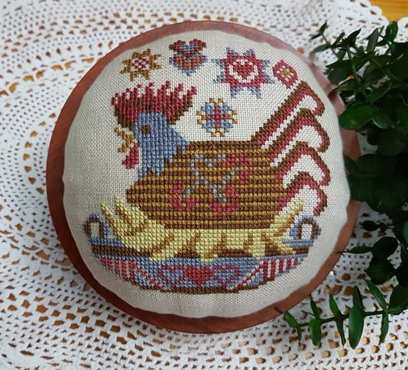 Hen Basket ~ Stitch N Needs