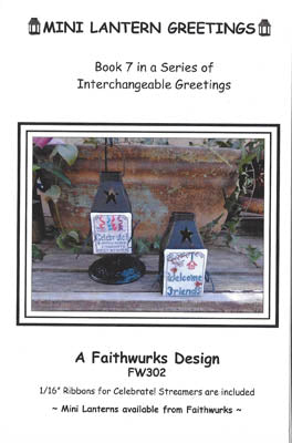 Mini Lantern Greeting BK 7 ~ Faithwurks