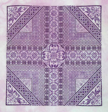 Shades Of Purple ~ Northern Expressions Needlework