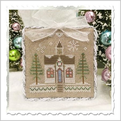 Glitter House 5 (5/9)- Glitter Village ~ Country Cottage Needleworks