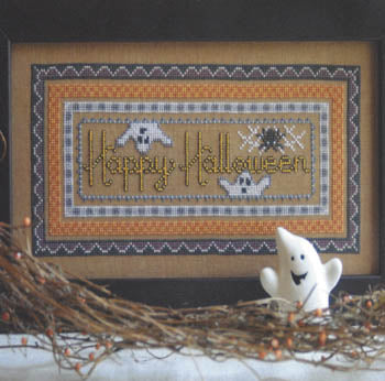 Two Ghosts One Spider ~ Annalee Waite Designs