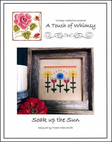 Soak Up The Sun ~ Vintage NeedleArts