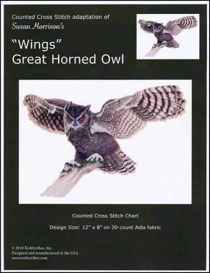 Great Horned Owl Wings ~ TechScribes