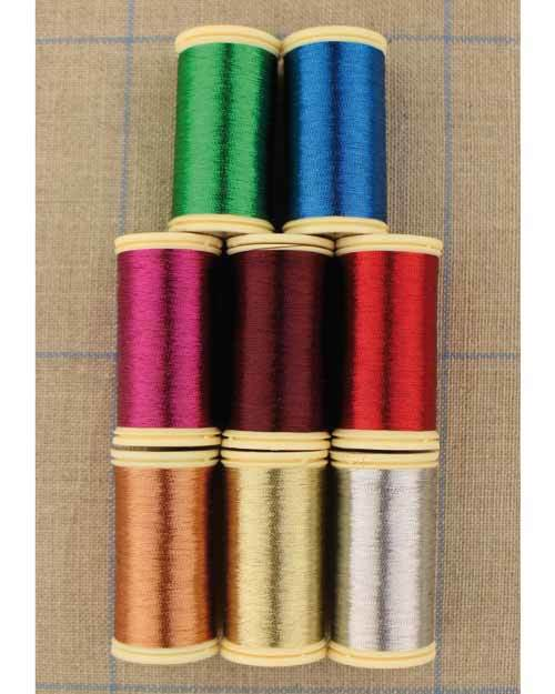 Metallic Threads - Set of 8 ~ Sajou