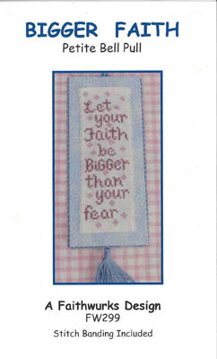 Bigger Faith (includes linen banding) ~ Faithwurks