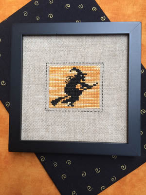 Witch On Broom ~ Annalee Waite Designs