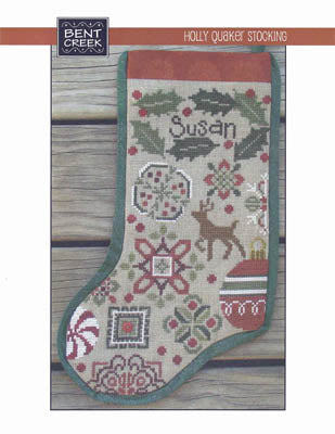 Holly Quaker Stocking ~ Bent Creek (M)