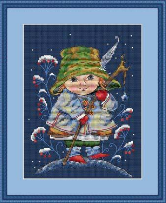 Merejka Cross Stitch Kits  - CHRISTMAS BELL