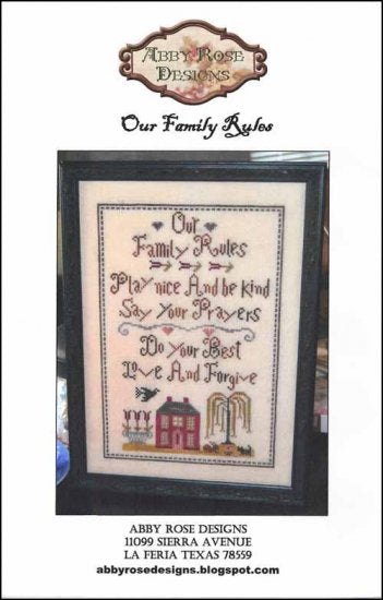 Our Family Rules ~ Abby Rose Designs