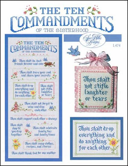 Ten Commandments Of The Sisterhood ~ Sue Hillis Designs