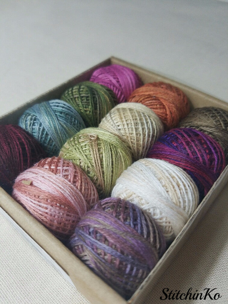 Valdani Thread Pack For Rosewood Manor's Summer Quakers