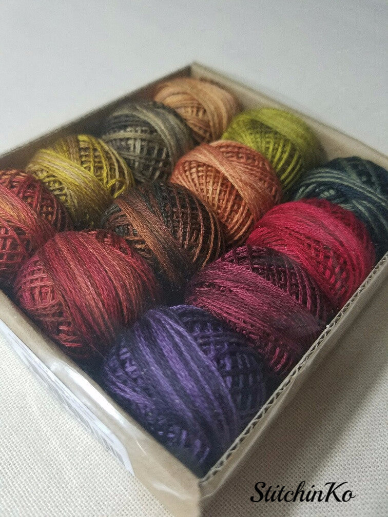 Valdani Thread Pack For Rosewood Manor's Autumn Quakers