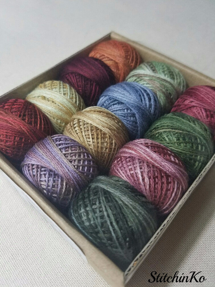 Valdani Thread Pack For Rosewood Manor's Spring Quaker