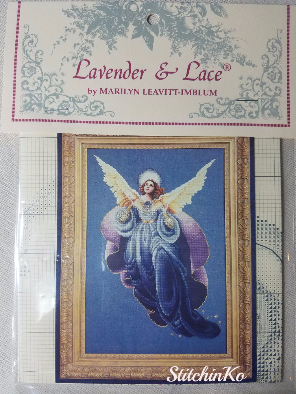 ~ LL53 ~ Angel of the Morning ~ Lavender & Lace