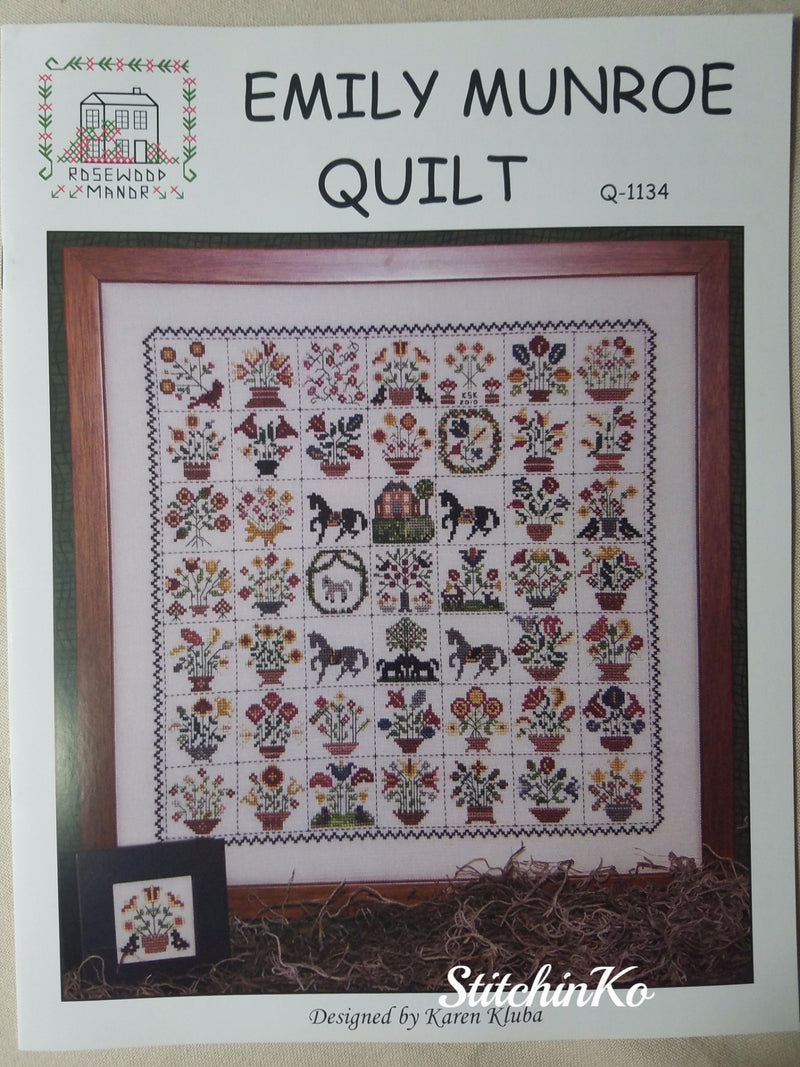 Emily Munroe Quilt ~ Rosewood Manor
