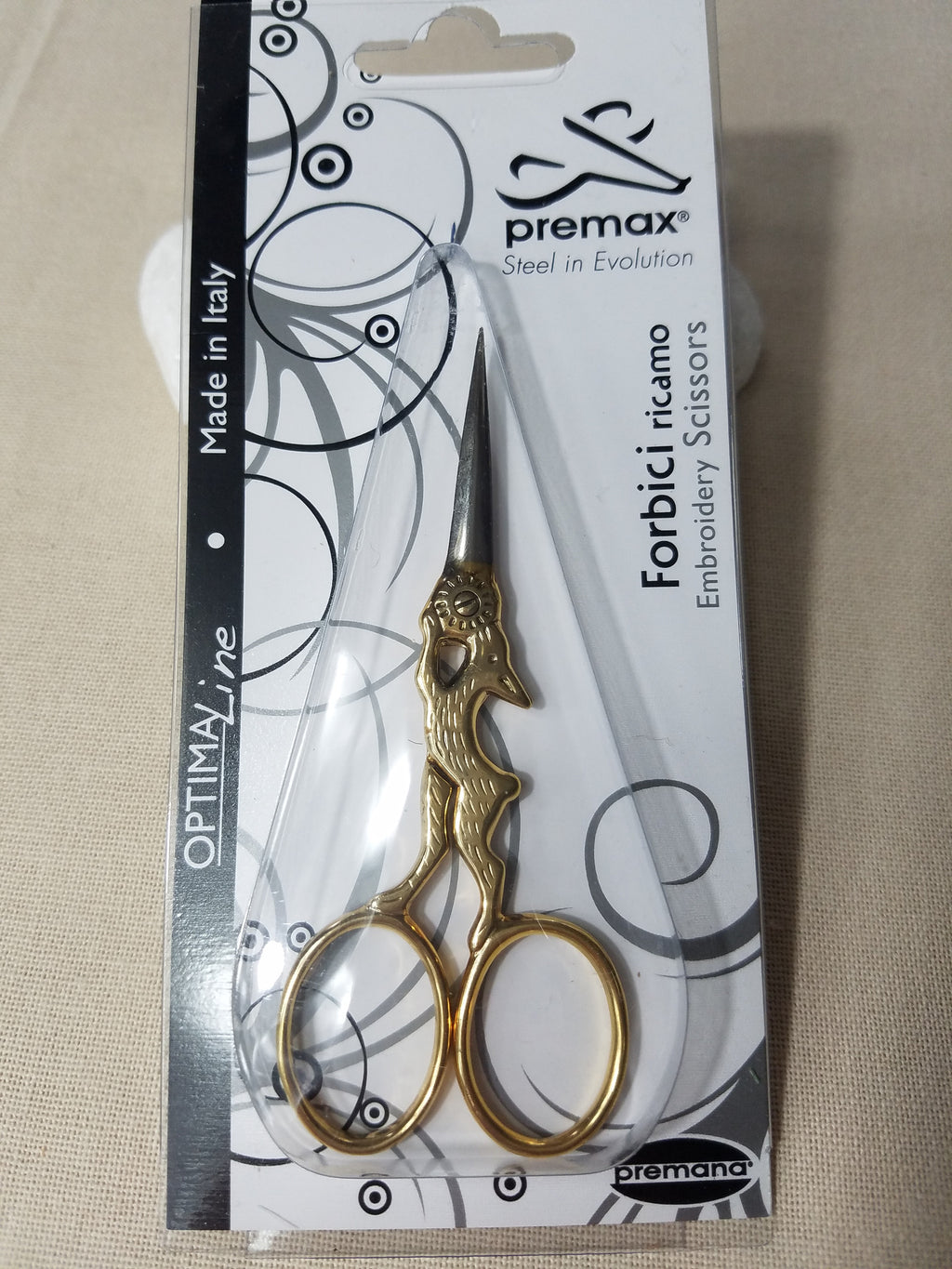 Premax Embroidery Scissors - Rabbit