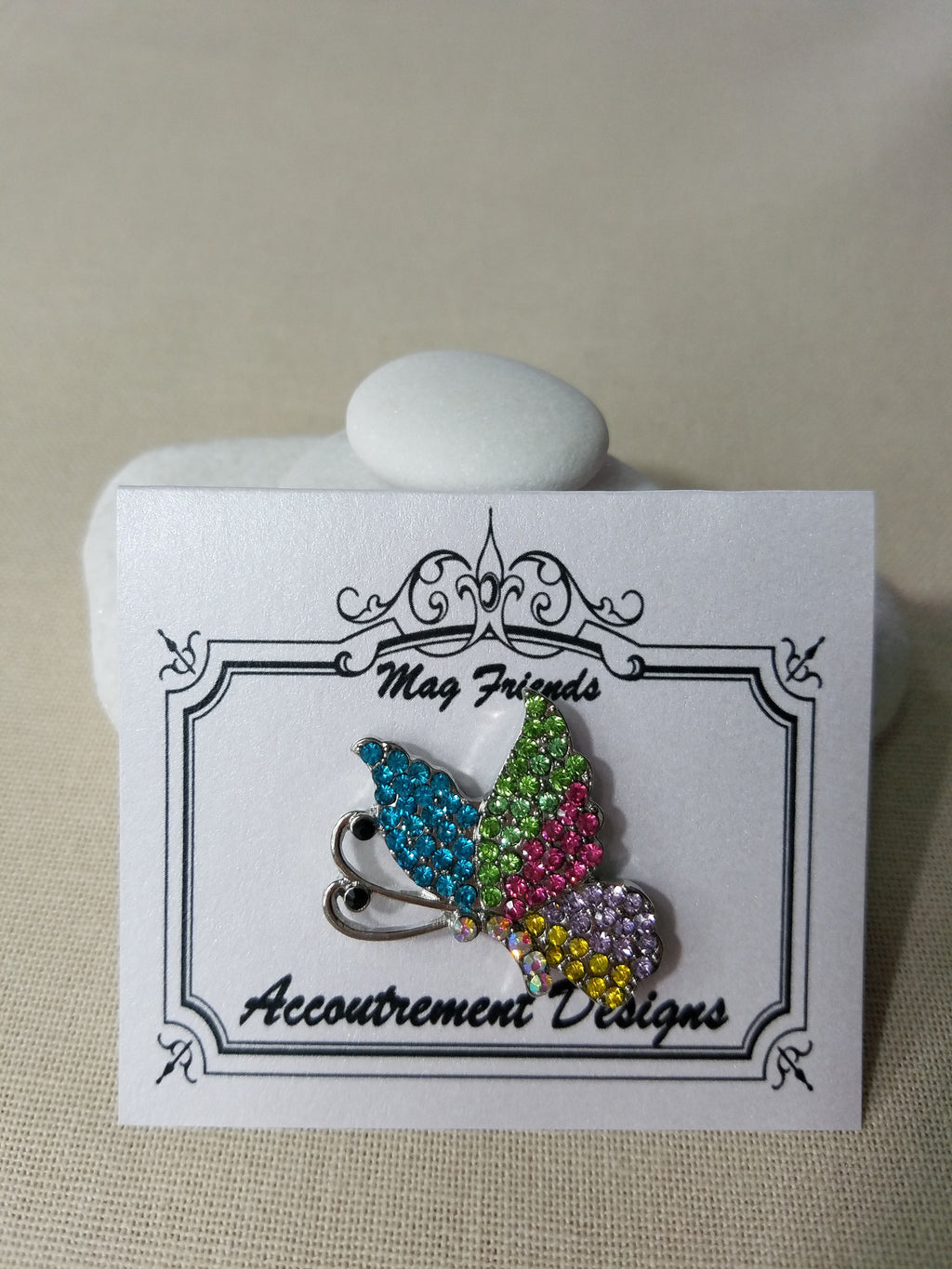 Glamorous ~ Butterfly ~ Accoutrement Magnet