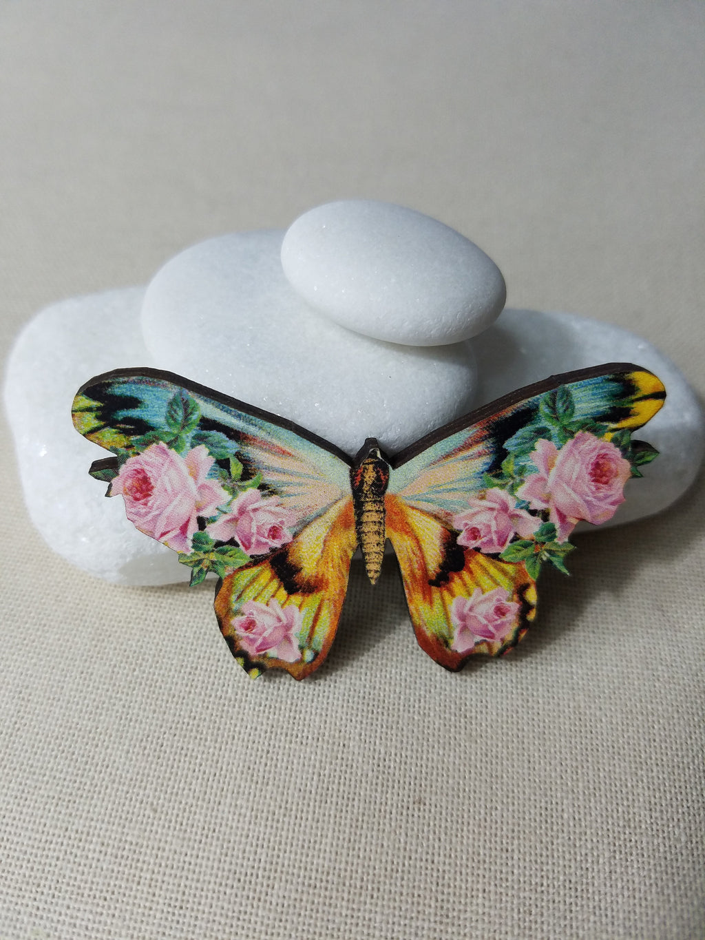 ~ Needleminder ~ Vintage Butterfly 1