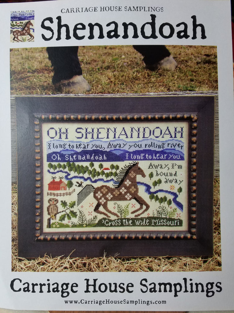 Oh Shenandoah - Carriage House Samplings