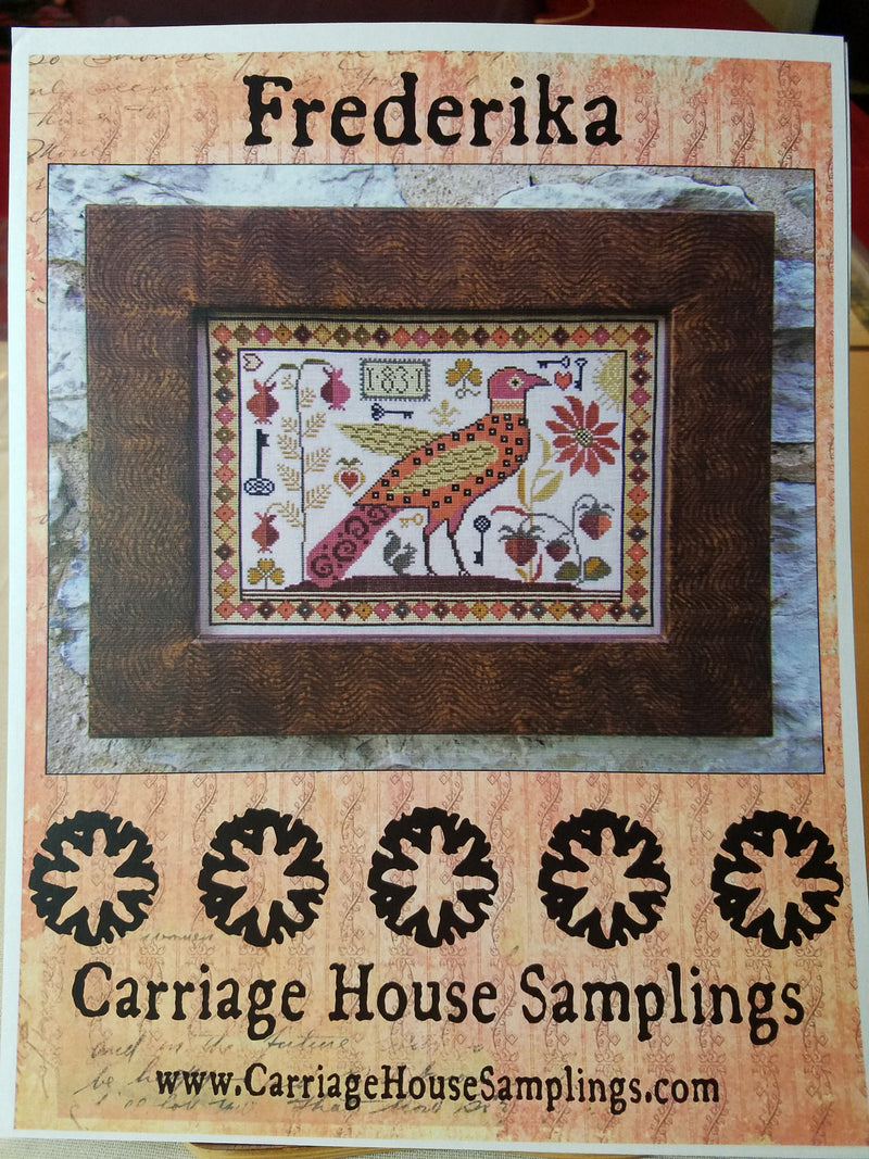 Frederika - Cross Stitch Pattern by Carriage House Samplings